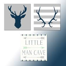 Baby Deer Nursery Baby Boy Nursery Little Man Cave Artsy Pumpkin