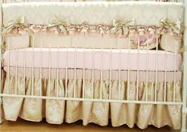 Yankees Crib Bedding Decoration Yankees Crib Bedding Set Satin With Pink Ruffles