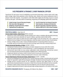 Finance Resume Examples by Sample Finance Resume Template 7 Free Documents Download In Pdf