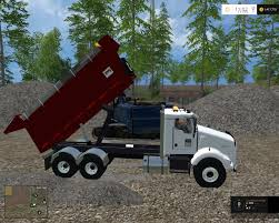 kenworth dump truck kenworth dump truck v 2 0 farming simulator modification