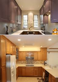 what is the best lighting for a small kitchen small kitchen ceiling lighting ideas with recessed lights