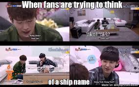 Roommate Memes - sbs roommate park chanyeol x seo kangjun roommate pinterest