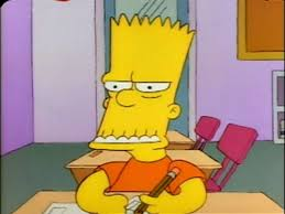 bart the simpsons bart posts and