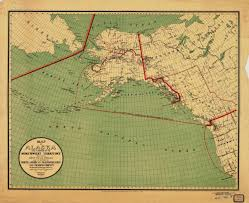 Alaska Route Map by Print Of Map Of Alaska And A Portion Of The Territory Showing The