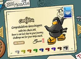 black belt congratulations card saraapril in club penguin the way to postcards and belts