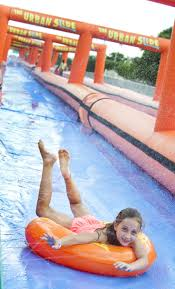 1 000 foot waterslide comes to college station news theeagle com