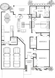 Best Floor Plans For Homes Floor Plan For A Small House 1150 Sf With 3 Bedrooms And 2 Baths