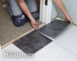 luxury vinyl tile installation family handyman