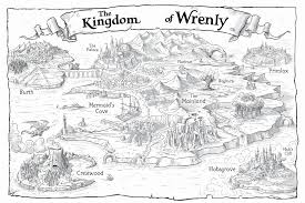 Crestwood Map Amazon Com The Lost Stone The Kingdom Of Wrenly 9781442496903