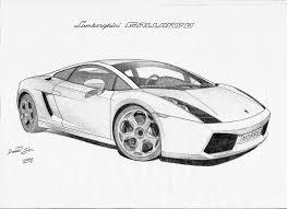 sketch of lamborghini gallardo image gallery of lamborghini drawings in pencil