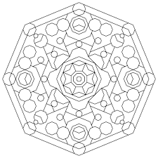 awesome printable geometric coloring pages 20 coloring