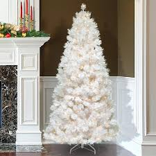 white tree with lights christmas tree with white lights also great home accents holiday ft