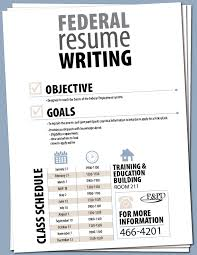 Federal Job Resumes by Federal Resume Writing Workshop Mccs Cherry Point
