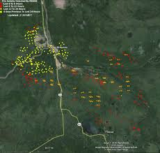 Largest Wildfire In Alberta History by Alberta Fort Mcmurray Fire Continues Spreading Southeast