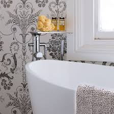 wallpaper bathroom ideas bathroom wallpapers ideal home