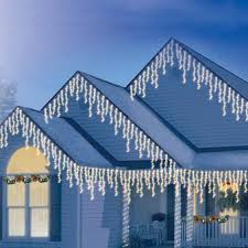 outdoor led icicle christmas lights smart ideas christmas lights icicle dripping outdoor led icicles