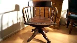 vintage wooden office chair antique wooden desk chair on wheels oak office base vintage n