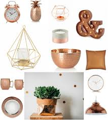 copper home accessories the style guide blog