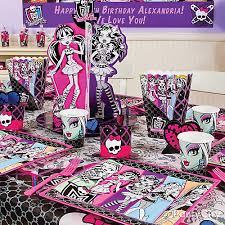 monster party table idea party