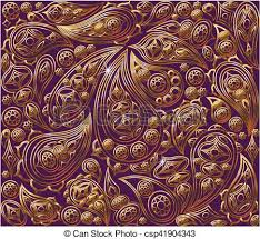 oriental design vintage floral background vector royal gold and purple eps