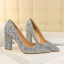 wedding shoes pumps new wedding shoes high heels gold silver women pumps special