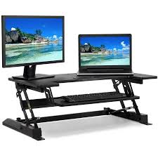 eureka ergonomic height adjustable standing desk amazon com eureka ergonomic adjustable standing desk v1 black inside