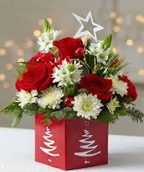 Christmas Flowers Mixed Christmas Floral Arrangement Bloomer U0027s Flower Shop