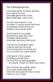 soldiers thanksgiving poem poems