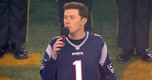 scotty mccreery fan club country music star scotty mccreery sings the national anthem new