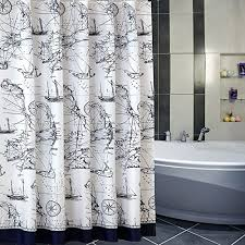 Sea Themed Shower Curtains Nautical And Themed Shower Curtains Beachfront Decor