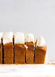 carrot loaf with cream cheese frosting the sweet and simple kitchen