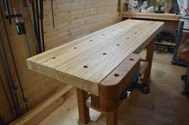 Woodworking Bench Top Material by Oak Workbench Build U2014 Summerhill Woodwork
