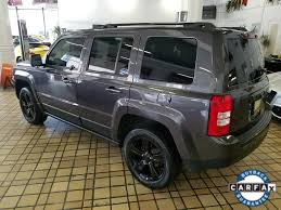 jeep patriot suspension used one owner 2015 jeep patriot altitude edition chicago il