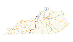 Ky Map File Us 31w Ky Map Svg Wikimedia Commons