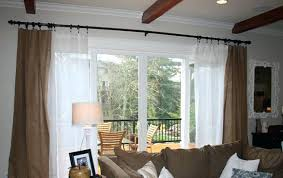 Drapes Sliding Patio Doors Curtains For Sliding Doors White Sliding Glass Door Curtains