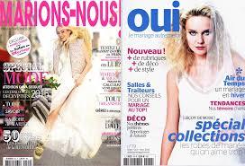 magazine mariage publication dans des magazines spécialistes du mariage