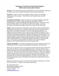 cover letter veterinary resume examples veterinary technician