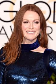 julie ann moore s hair color julianne moore s golden globes 2016 makeup pret a reporter