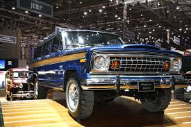 classic jeep wagoneer could be geneva u0027s coolest suv