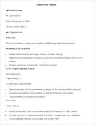 Sales And Marketing Resume Sample by Sales Resume Template U2013 41 Free Samples Examples Format