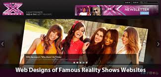 Reality Shows Web Designs Of Famous Reality Shows Websites So You Think You