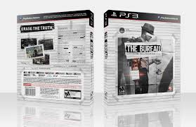 the bureau ps3 the bureau xcom declassified playstation 3 box cover by white wolf