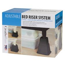 circle bed risers grey round bed with purple bedding find this
