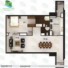 Shop Apartment Floor Plans 1 Bedroom Area 1356 Sqft Unit 01 Building 1 Floor Plan Al Durrah
