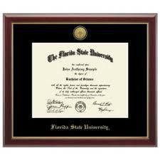 fsu diploma frame fsu seminole apparel diploma frames school office travel