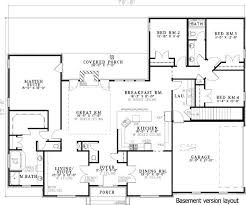 four bedroom house plans 88 best 4 bedroom rambler plans images on house floor
