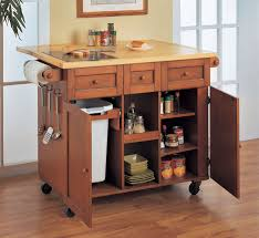 kitchen storage islands kitchen island with trash storage