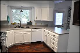 Paint For Kitchen by Painted White Oak Kitchen Cabinets U2013 Home Design And Decorating