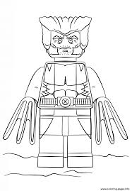 print lego wolverine coloring pages lego pinterest lego