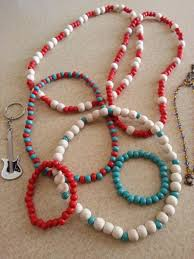 wood beads necklace designs images Colourful wooden bead necklaces and bracelets various designs JPG